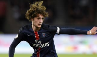 PSG midfielder Adrien Rabiot is out of contract at the end of the season