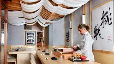 Maru chef Taiji Maruyama