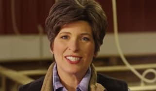 Republican senate candidate Joni Ernst