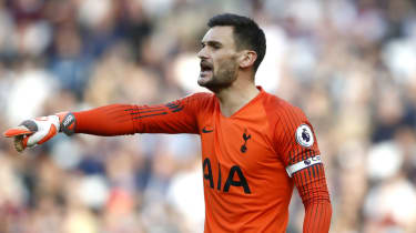 Goalkeeper Hugo Lloris is captain of Tottenham and the French national team