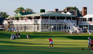 Trump National Golf Club in Bedminster, New Jersey