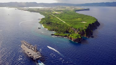 North Korea threatens US base on Guam