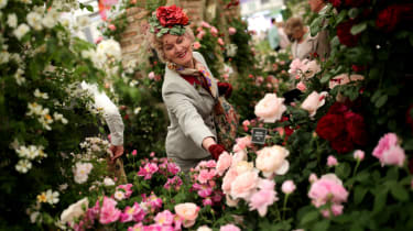 Despite the crowds, The Royal Horticultural Society has warned of Britain having a 'lost generation' with no gardening skills