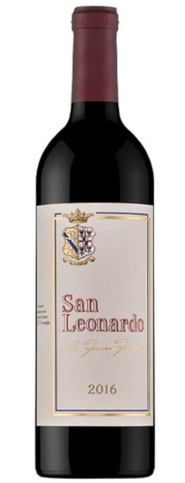 2016 San Leonardo wine
