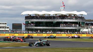 Lewis Hamilton F1 British Grand Prix