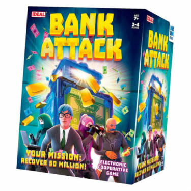 Bank Attack Electronic Game