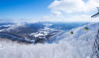 Tomamu is one of Japan's best-known ski resorts