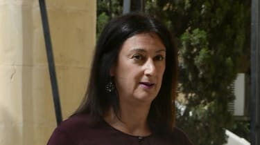 Journalist and blogger Daphne Caruana Galizia on 27 April 2017.