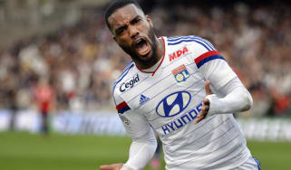 Alexandre Lacazette of Lyon