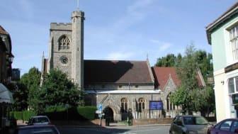 Welwyn village in Hertfordshire