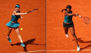 French Open women's final Simona Halep vs. Sloane Stephens tennis
