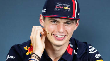 Red Bull's Max Verstappen finished third in the 2019 F1 drivers' championship
