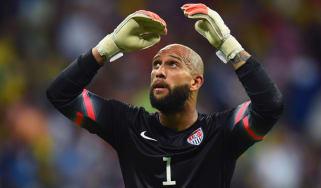 Tim Howard USA goalkeeper