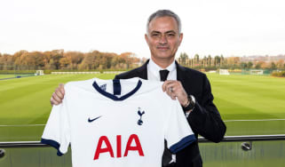 Jose Mourinho has been named Tottenham's new head coach
