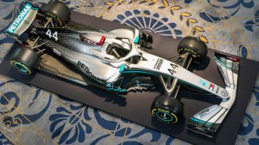 Mercedes W11 livery F1 2020 car