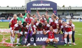 Arsenal won the 2018-19 FA Women's Super League title
