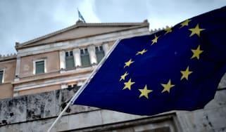 EU Flag Greece