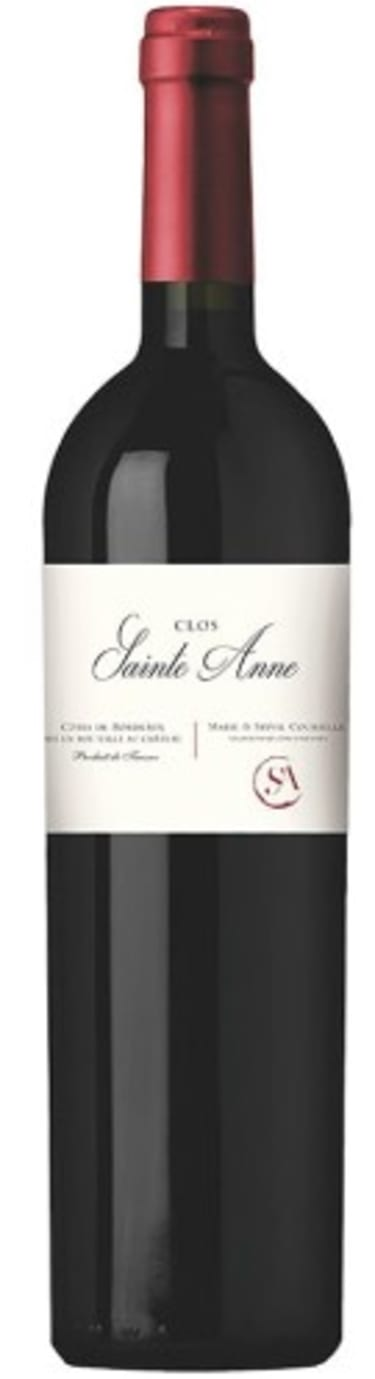 2014 Clos Sainte Anne, Côtes de Bordeaux, France