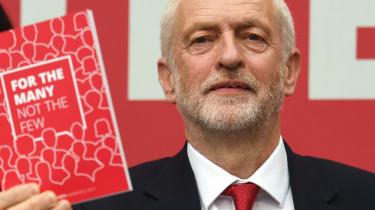 Jeremy Corbyn, Labour manifesto