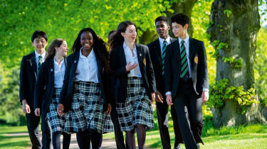 Oakham School in Rutland is one of the UK's most forward-thinking