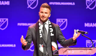 David Beckham Miami team MLS