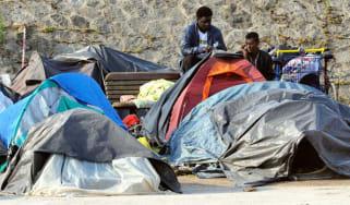 Calais camps