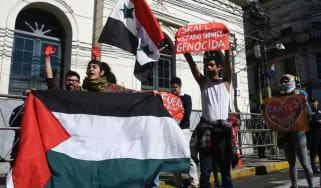 Asuncion, Paraguay, Israel, Jerusalem