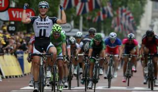 Marcel Kittel winning stage three of the Tour de France