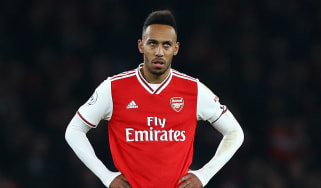 Arsenal captain Pierre-Emerick Aubameyang