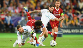 Mohamed Salah shoulder injury update Egypt World Cup Sergio Ramos