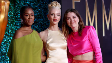 Moses Ingram, Anya Taylor-Joy and Marielle Heller