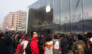 Apple store, China