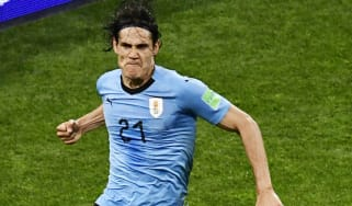 Uruguay 2 Portugal 1 Edinson Cavani World Cup