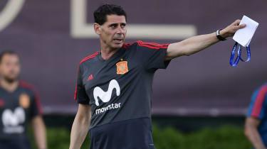 Fernando Hierro Spain 2018 World Cup Julen Lopetegui