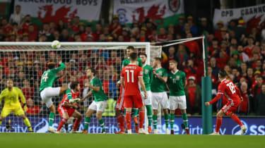 Harry Wilson scored a free-kick winner for Wales against the Republic of Ireland