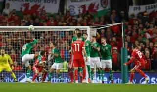 Harry Wilson scored a free-kick winner for Wales against the Republic of Ireland