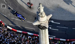 An F1 Live event was held in London's Trafalgar Square in June 2017