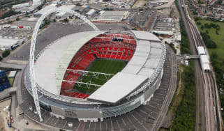 Wembley Stadium is the home of English football and the national team