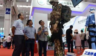 robot exoskeleton body armour