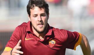Mattia Destro of Roma