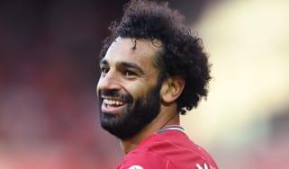 Liverpool and Egypt striker Mohamed Salah