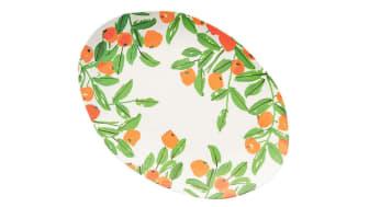 Vera Poppies Bamboo Melamine Serving Platter