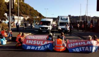 Insulate Britain protest