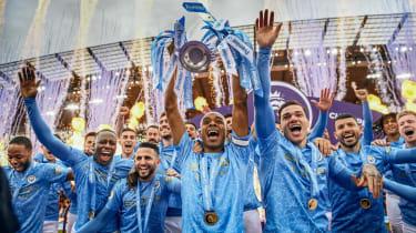 Manchester City are the Premier League defending champions