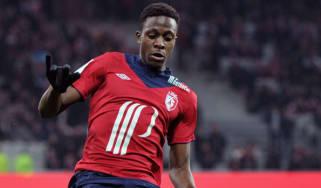 Lille forward Divock Origi