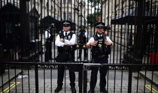 Alleged terror plot involved using a bomb to break through Downing Street gates
