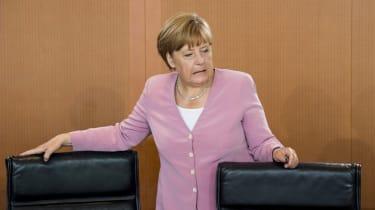 Angela Merkel - Worried