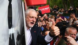 Corbyn campaign trail