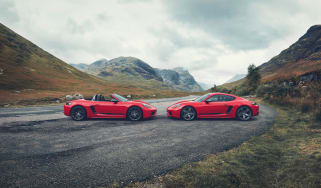 Porsche Cayman and Boxster T