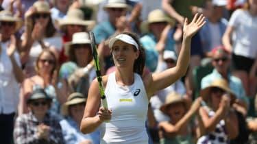 Wimbledon 2018 tennis Johanna Konta